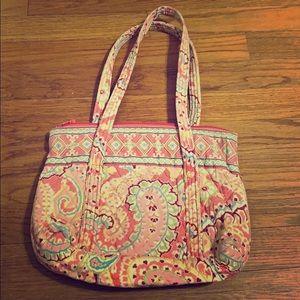Vera Bradley paisley small shoulder bag